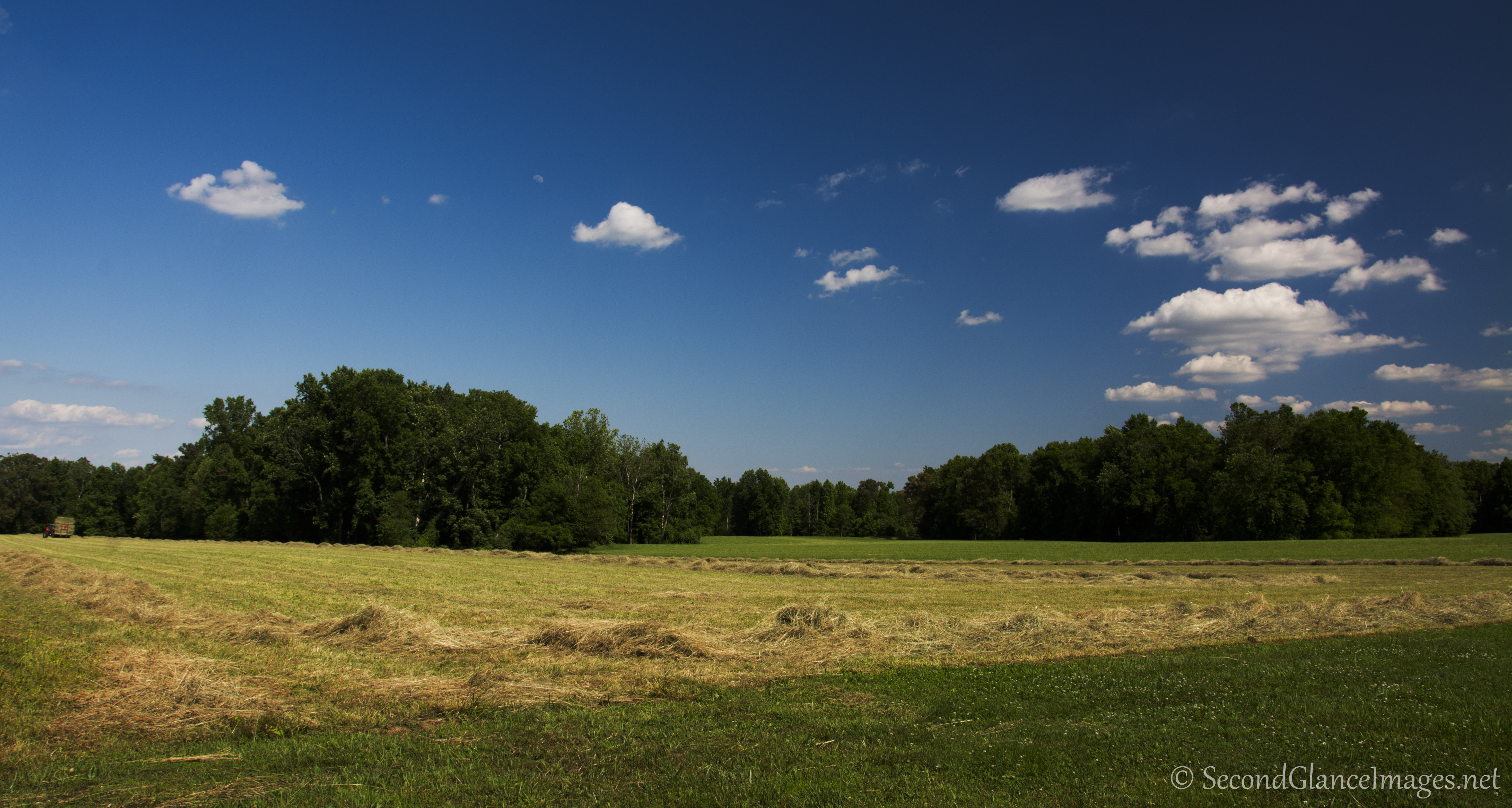 Another view across the fields ...